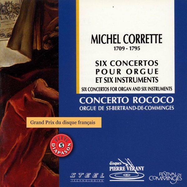 Corrette - 6 concertos pour orgue & 6 instruments