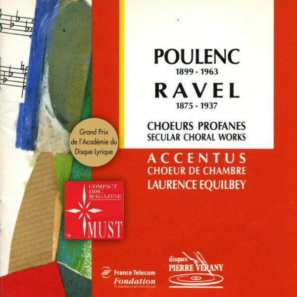 Poulenc/Ravel - Chœurs Profanes