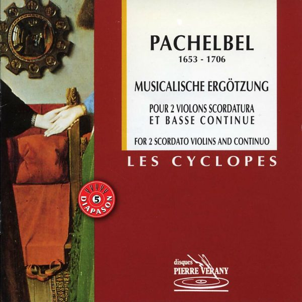Pachelbel - Musicalische Ergotzung pour 2 violons & B.c.