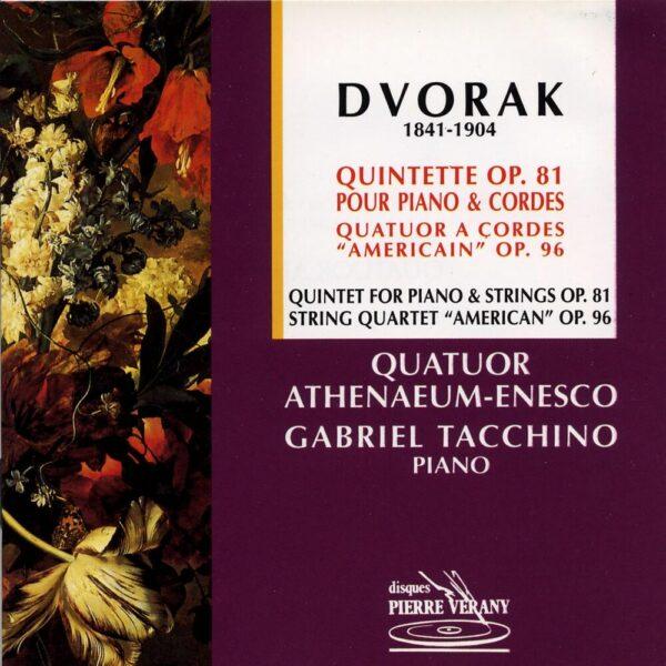 Dvorak - Quintette Op.81 & Quatuor Americain