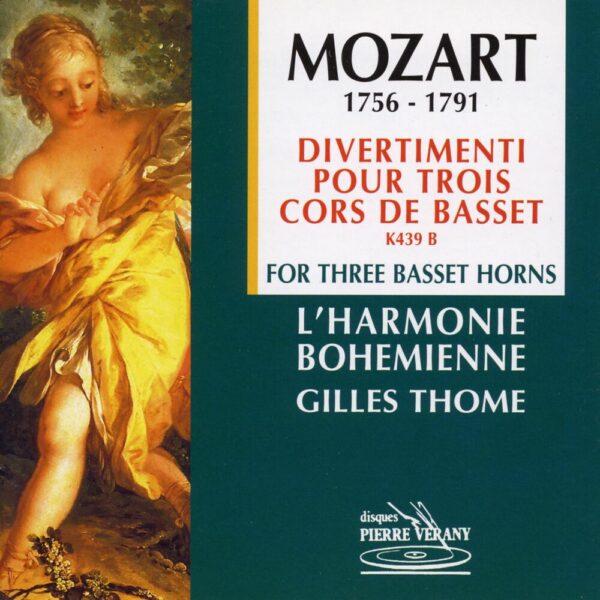 Mozart - Divertimenti pour 3 cors de basset