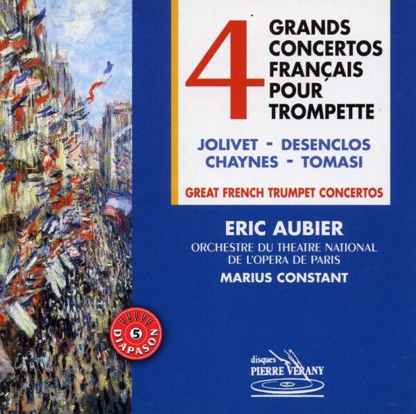 Quatre grands Concertos francais pour Trompette