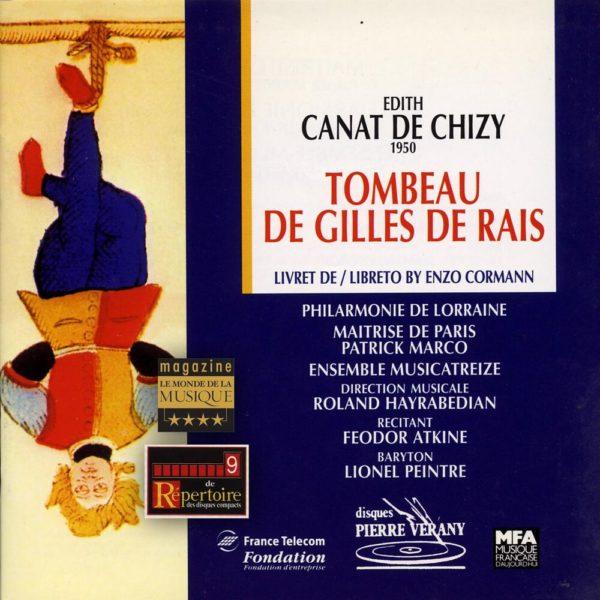 Canat de Chizy - Le tombeau de Gilles de Rais