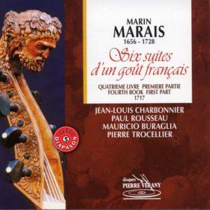 Marais - Six suites d'un goût français - 4ème livre 1ère Partie