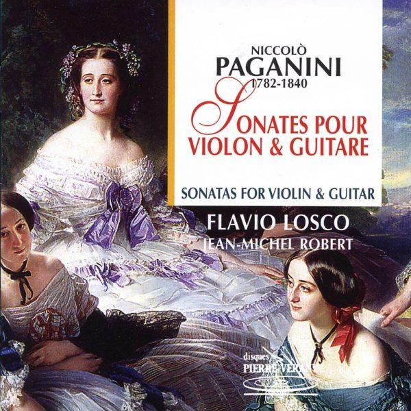 Paganini - Sonates pour violon & guitare