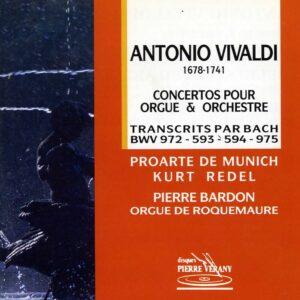 Vivaldi - Concertos pour orgue & orchestre