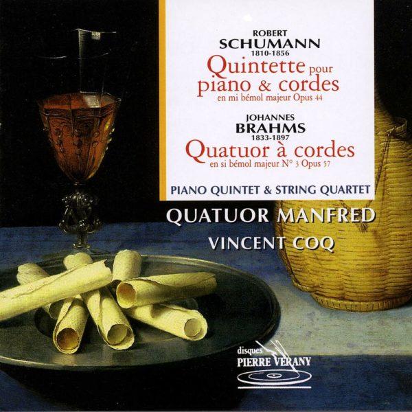 Schumann - Quintette pour piano & cordes - quatuor à cordes