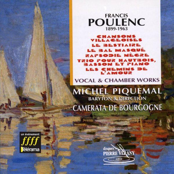 Poulenc - Œuvres vocales & musique de chambre