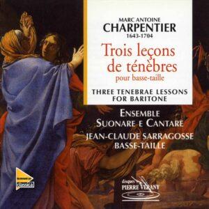 Charpentier - Trois leçons de ténèbres pour basse-taille