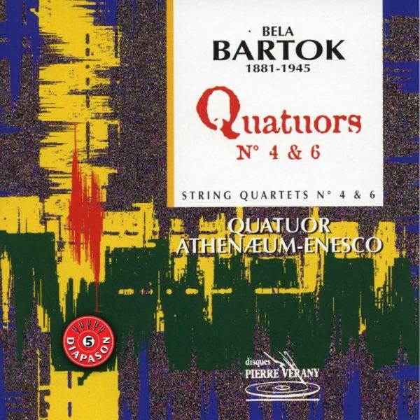 Bartok - Quatuors N° 4 & 6
