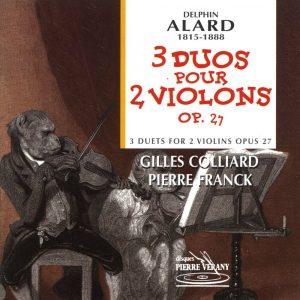 Alard - Trois duos pour 2 violons, Op. 27