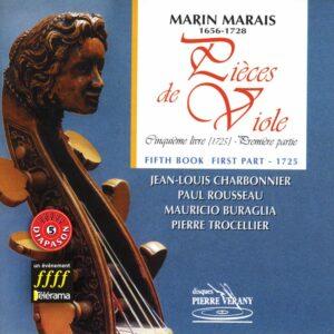 Marais - Pièces de viole - 5ème livre 1ère partie