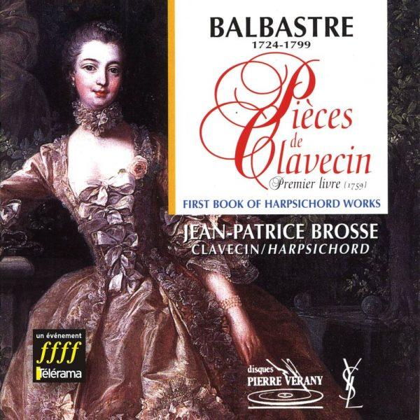 Balbastre - Pièces de clavecin - 1er livre (1759)