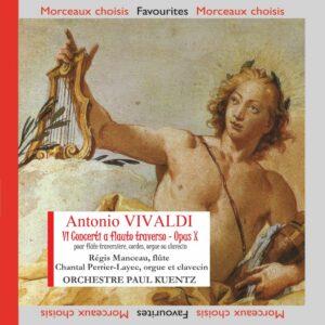 Vivaldi - 6 concertos pour flûte traversière, opus X