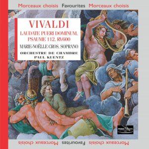Vivaldi - Laudate pueri Dominum - Psaume112 pour soprano, cordes et continuo RV600