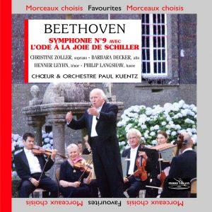 Beethoven - Symphonie N° 9 avec l'Ode à la Joie de Schiller