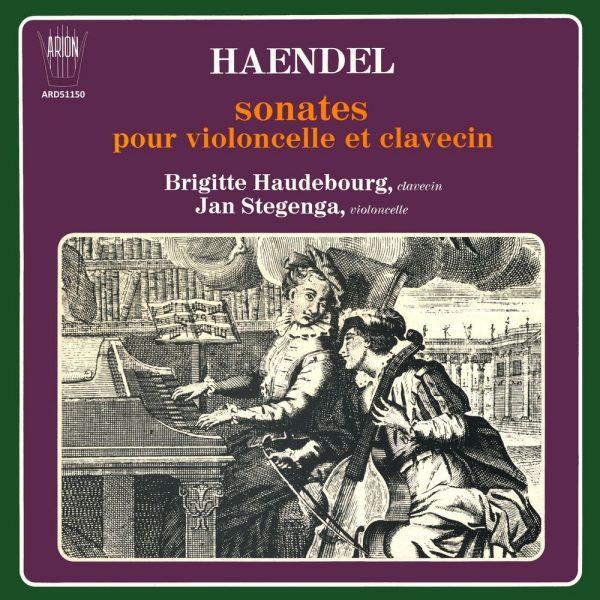 Haëndel - Sonates pour violoncelle et clavecin