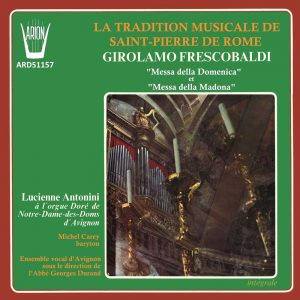 Frescobaldi - Fiori musicali Vol.1