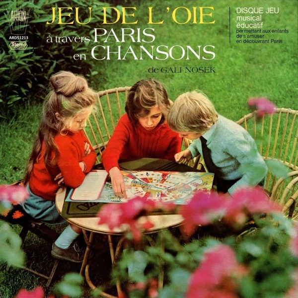 Jeu de l'oie à travers Paris en chansons