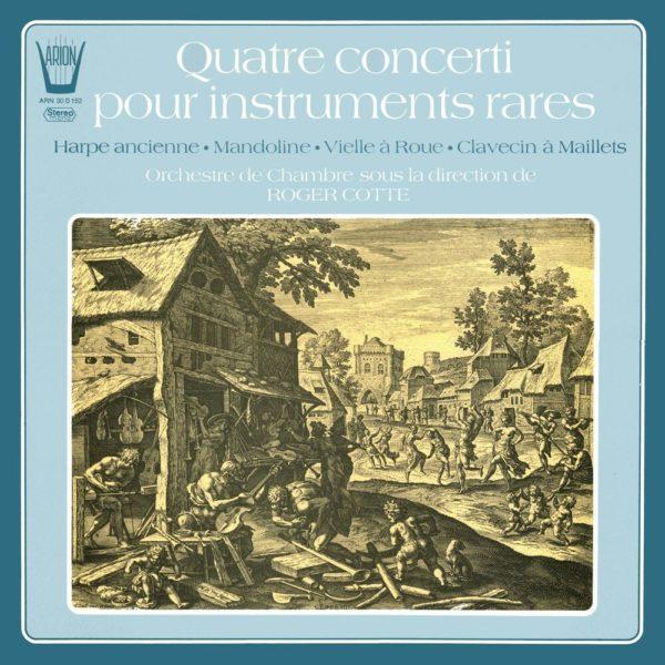 Quatre Concerti pour instruments rares vol.1