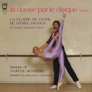 La danse par le disque Vol.16 - Classe de danse de D. Franck