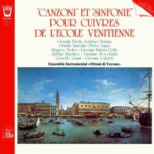 Canzoni  et Sinfonie pour Cuivres de l'école Venitienne