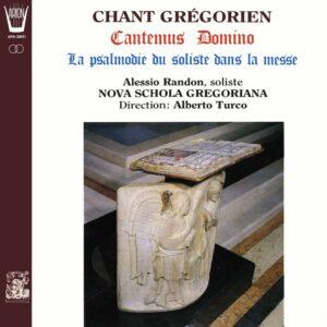 Chant Grégorien - Cantemus Domino / La Psalmodie du Soliste dans la messe