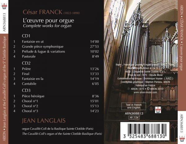 César Franck a Sainte-Clotilde