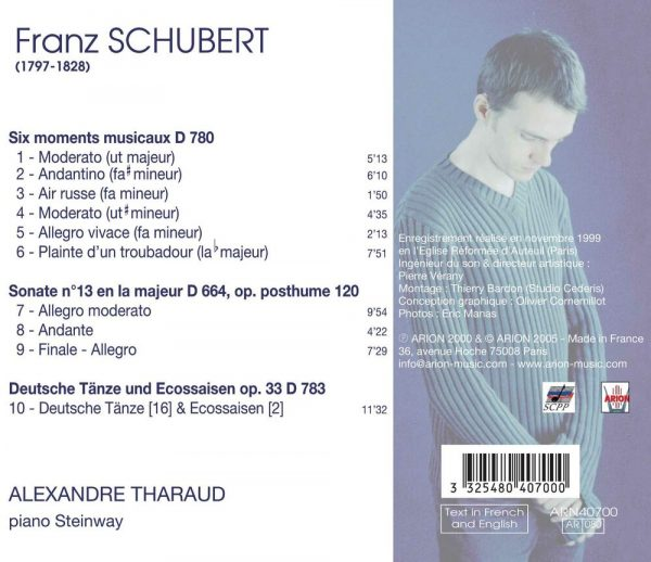 Schubert - Moments Musicaux - Sonate D 664 - Deutsche D 783
