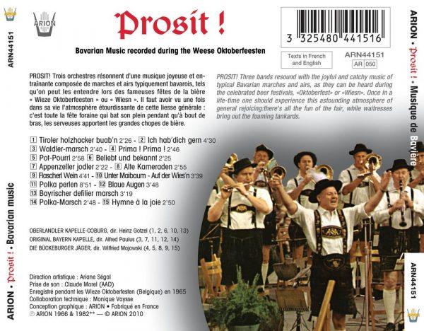 Musik aus Bayern - Musique Bavaroise