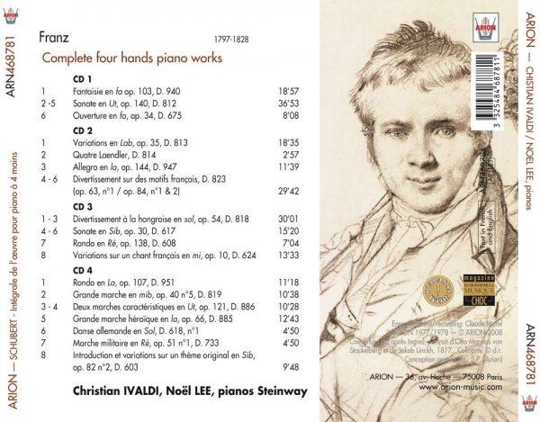 Schubert - Œuvres complètes pour Piano à 4 Mains