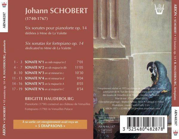 Schobert - 6 Sonates pour pianoforte, Op. XIV