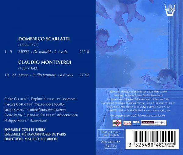 """""""Monteverdi / Scarlatti - Messe """"""""In Illo Tempore"""""""" - Messe """"""""de Madrid"""""""""""""""