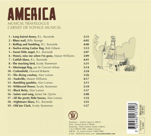 Carnet de Voyage - Amerique