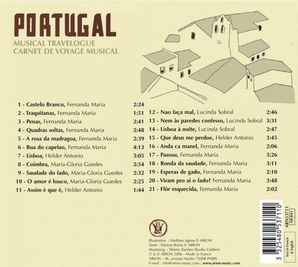 Carnet de Voyage - Le Portugal
