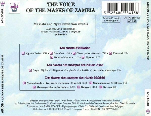 La Voix des Masques de Zambie - Rituels D'initiation Makishi et Nyau
