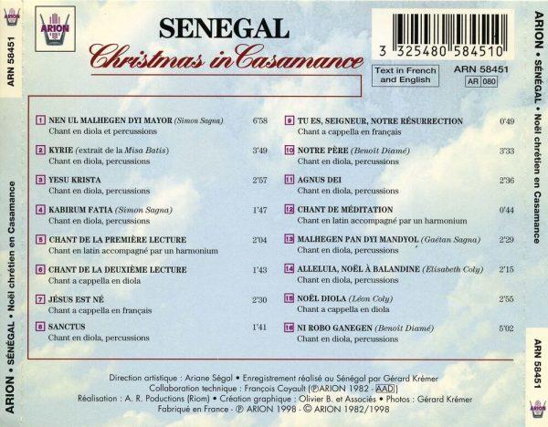 Senegal - Noël Chrétien en Casamance