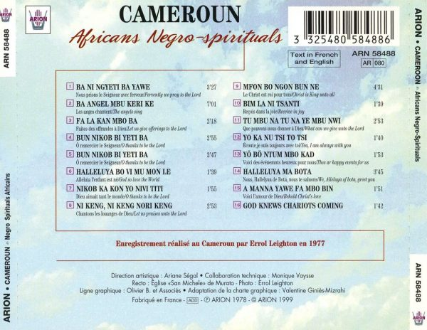 Cameroun - Négro-spirituals africains