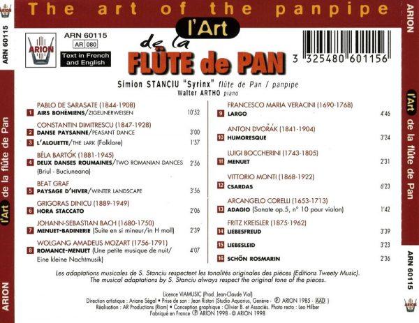 L'Art de la Flûte de Pan