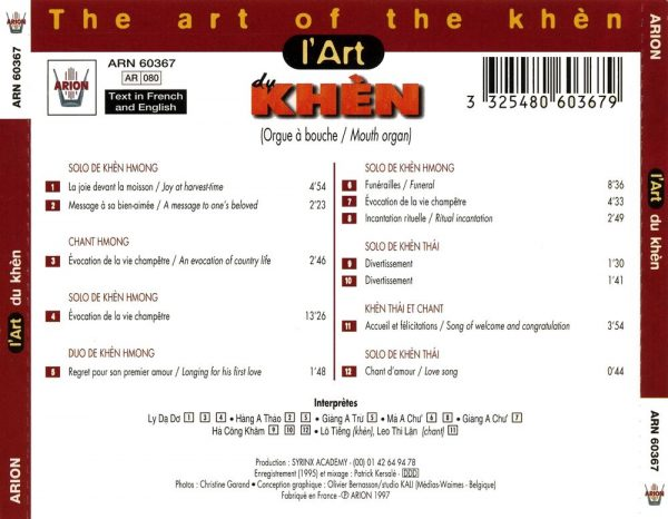 L'Art du Khen