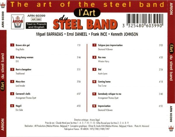 L'Art du Steel Band