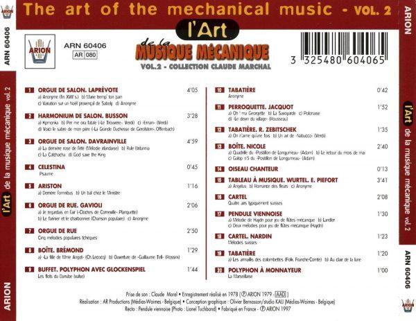 L'Art de la Musique Mécanique Vol. 2