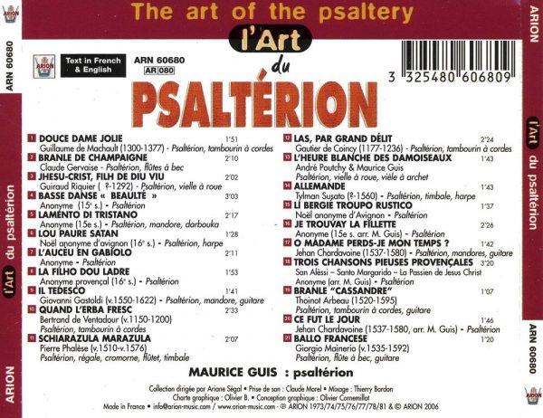 L'Art du Psaltérion