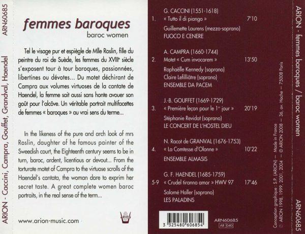 Femmes Baroques - Baroc Women