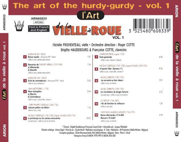 L'Art de la vielle à roue Vol. 1
