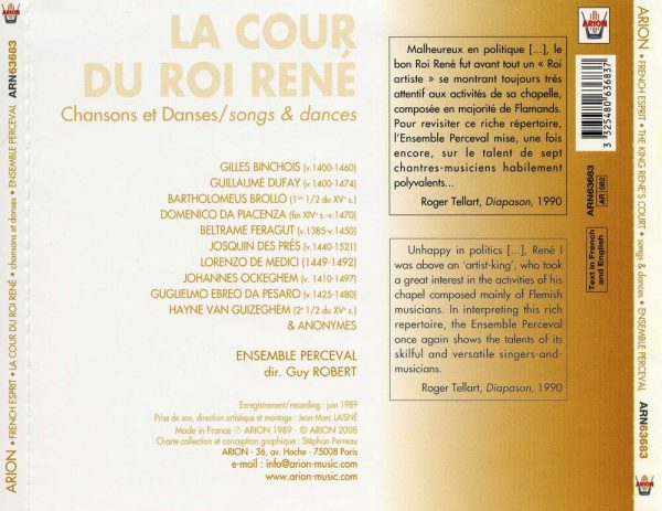 La Cour du Roi René - Chansons et Danses