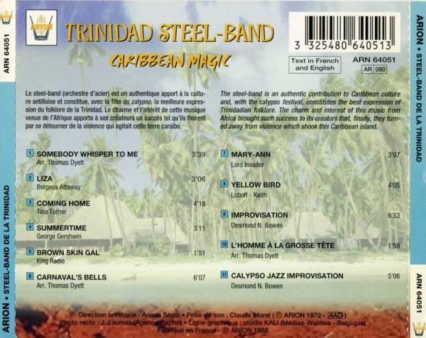 Le Steel-Band de la Trinidad - Magie Caraibe