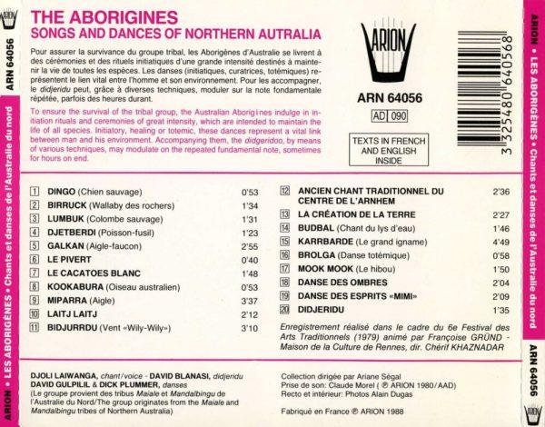 Les Aborigenes - Chants et danses de l'Australie du nord