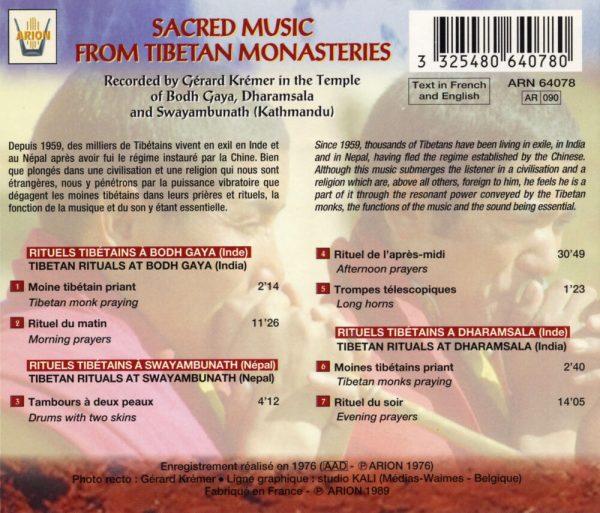Musique Sacrée des Moines Tibétains