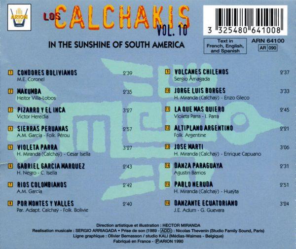 Los Calchakis Vol.10 - Sous le soleil sud-americain